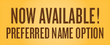 Preferred Name Option button