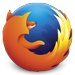 An image of the Mozilla Firefox browser logo.
