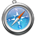 An image of the Apple Safari browser logo.