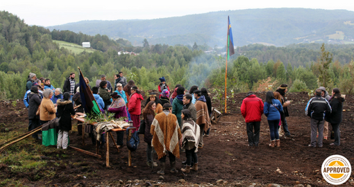 Winter Solstice Ceremony at the Wekimün Foundation, Chiloé, Chile.