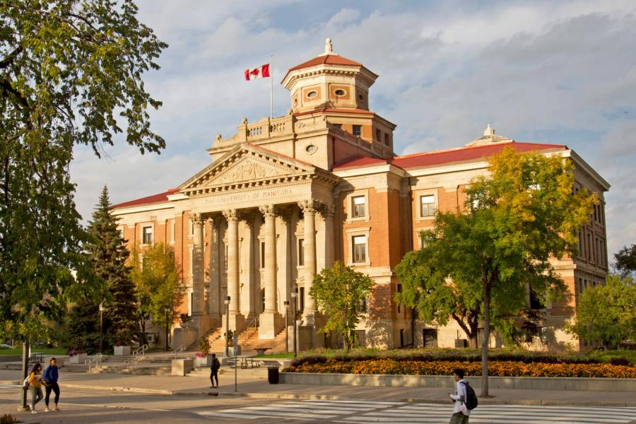 The University of Manitoba Administration building.