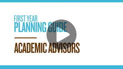 Academic advisors video